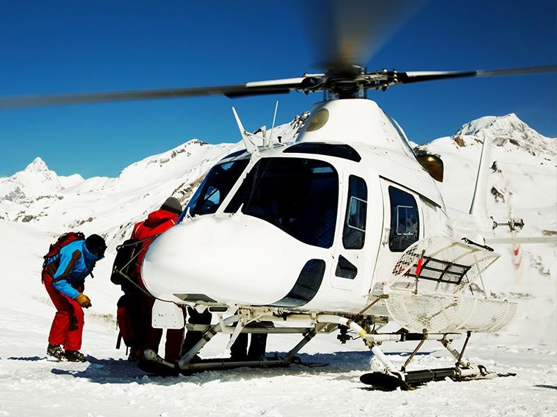 Erste Hilfe auf der Piste – Bergrettung