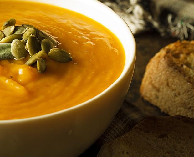 Bild zum Beitrag 'Kürbis-Currysuppe'