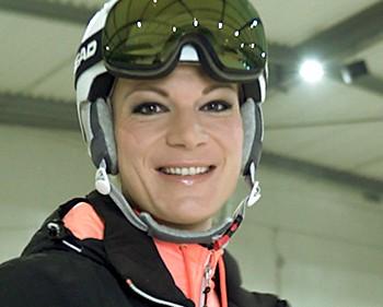 Interview mit Maria Höfl-Riesch, Olympiasiegerin im Ski-Alpin