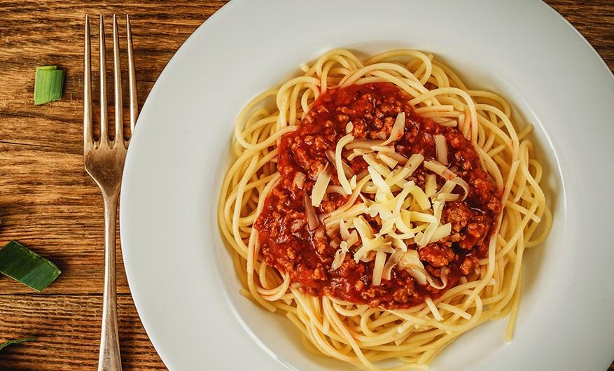 Bild zum Beitrag 'Spaghetti Bolognese'