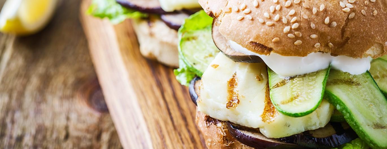 Bild zum Beitrag 'Vegetarischer Burger'