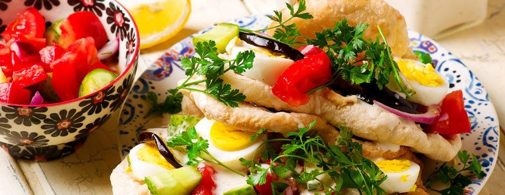 Bild zum Beitrag 'Sabich – Streetfood aus Israel'