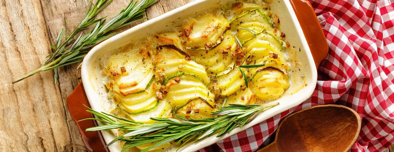 Bild zum Beitrag 'Kartoffelgratin'