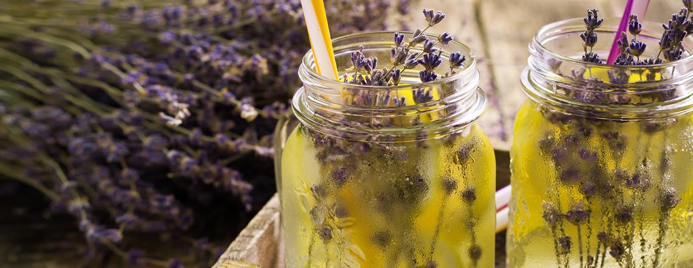 Bild zum Beitrag 'Zitronen-Limonade mit Lavendel'