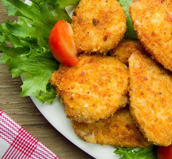 Bild zum Beitrag 'Schnitzel mit Gemüsesticks'