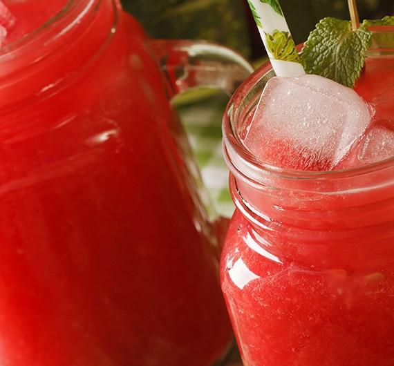 Bild zum Beitrag 'Wassermelonen-Smoothie'