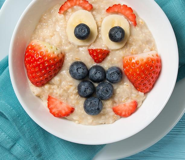 Bild zum Beitrag 'Gesundes Porridge zum Frühstück'
