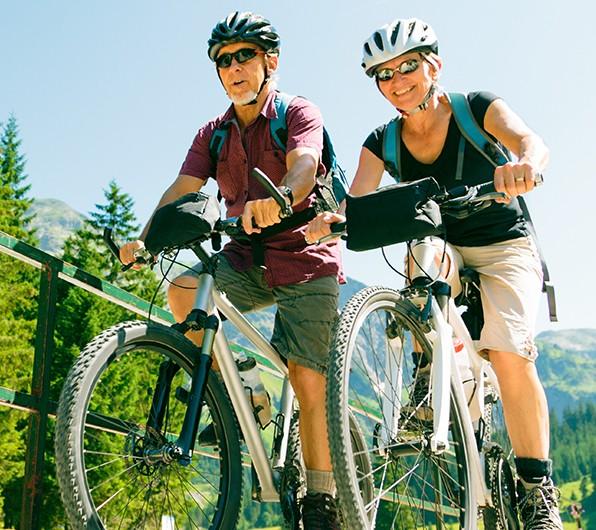 Bild zum Beitrag 'Radfahren fördert die Gesundheit'
