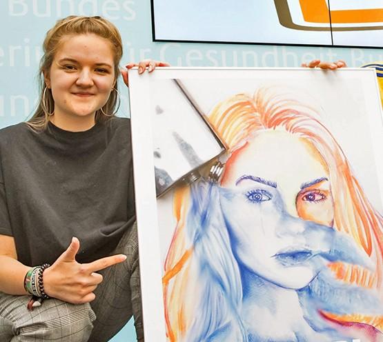 Bild zum Beitrag 'bunt statt blau – Kunst gegen Komasaufen 2018'