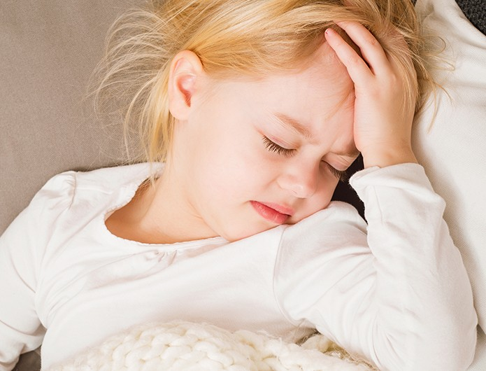 Bild zum Beitrag '7 Tipps bei Kinderkopfschmerzen'