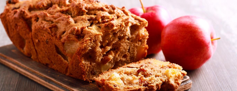Bild zum Beitrag 'Traditionelles und gesundes Apfelbrot'