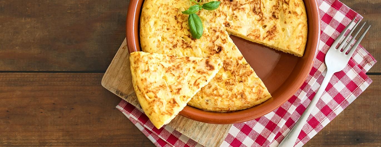 Bild zum Beitrag 'Traditionelle Spanische Tortilla'