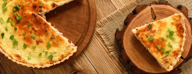 Bild zum Beitrag 'Süßkartoffel-Quiche'