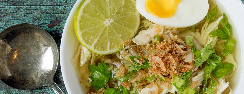 Bild zum Beitrag 'Soto Ayam – Hühnersuppe aus Indonesien'