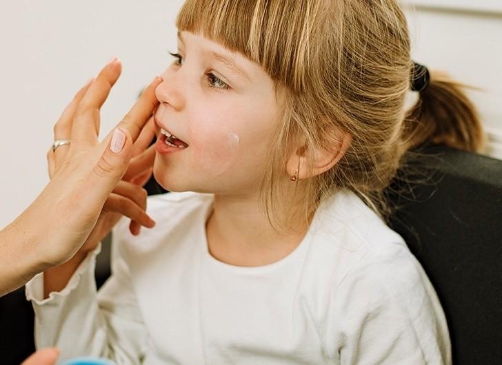 Bild zum Beitrag 'Hautkrankheiten bei Kindern'