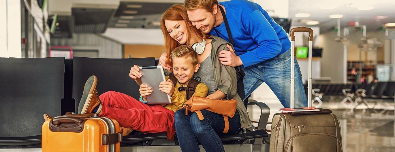 Bild zum Beitrag 'Fliegen mit Kindern: Tipps für eine entspannte Reise'