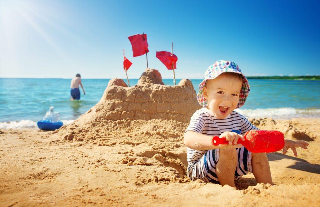 Bild zum Beitrag 'Strandspiele mit Max'