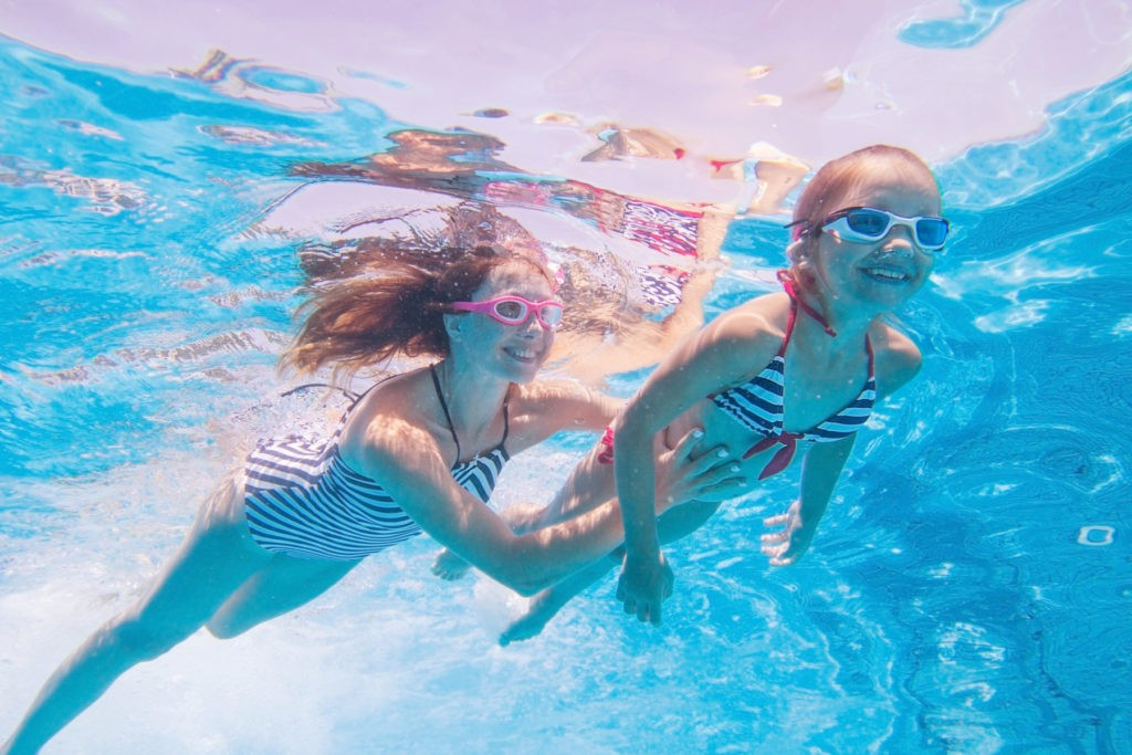 Bild zum Beitrag 'Nass und gesund: Kinderschwimmen'