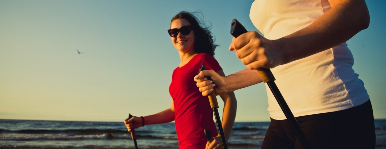 Bild zum Beitrag 'Fit mit Nordic Walking'