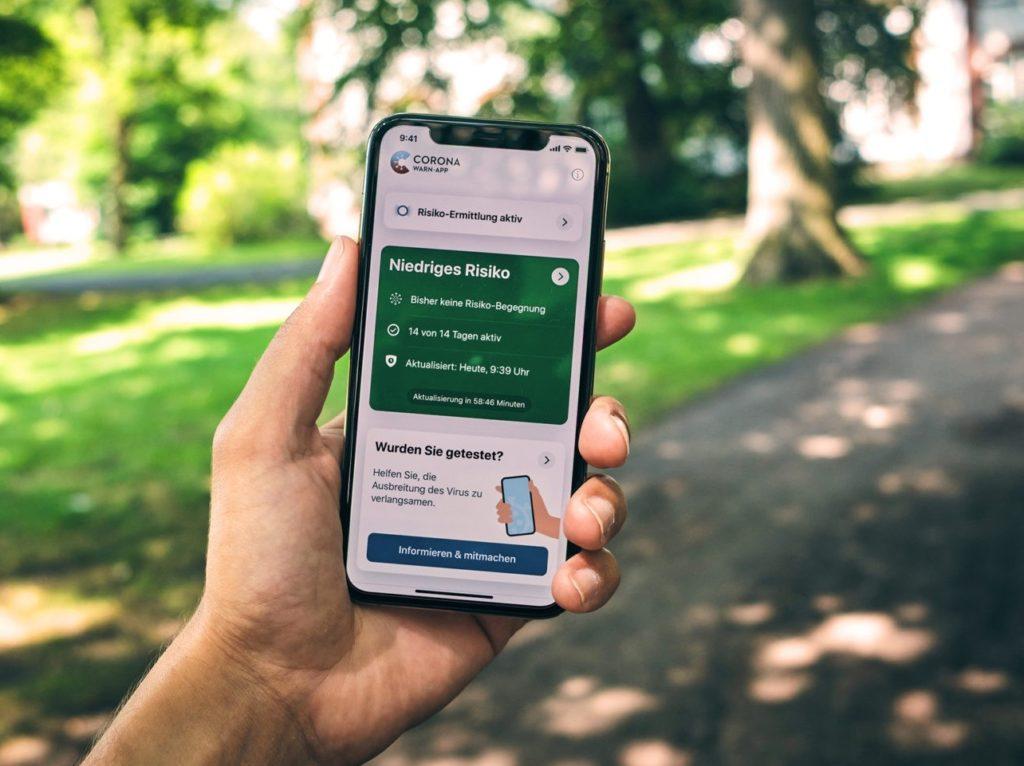 Bild zum Beitrag 'Corona-App: So hilft das Warnsystem im Kampf gegen die Pandemie'