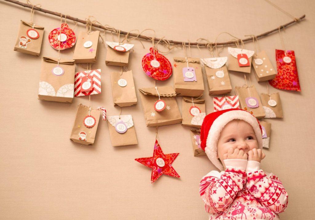 Bild zum Beitrag 'Adventskalender-Basteln für Kinder'