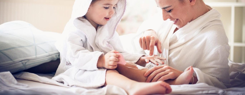 Bild zum Beitrag 'Neurodermitis bei Kindern im Winter'