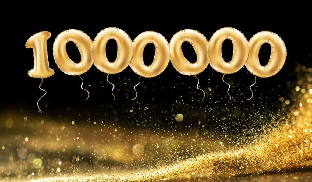 Bild zum Beitrag '1 Million Visits in einem Jahr – Wir freuen uns!'