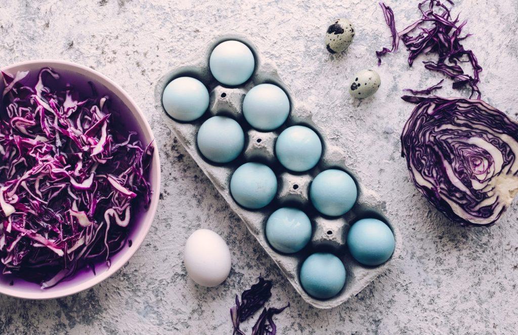 Bild zum Beitrag 'Ostereier natürlich färben'