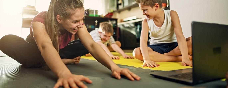 Bild zum Beitrag 'fit4future Feriencamp 2021: click & be fit – aktiv und gesund als Familie'
