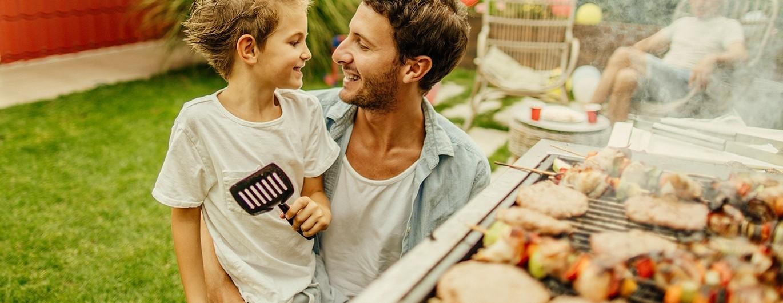 Bild zum Beitrag 'Grillen mit der Familie'