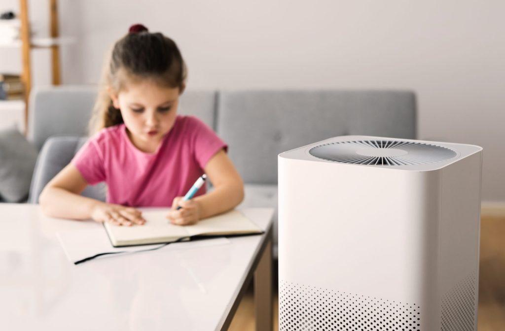 Bild zum Beitrag 'Luftreiniger – Wie sie gegen Allergien und Viren helfen'