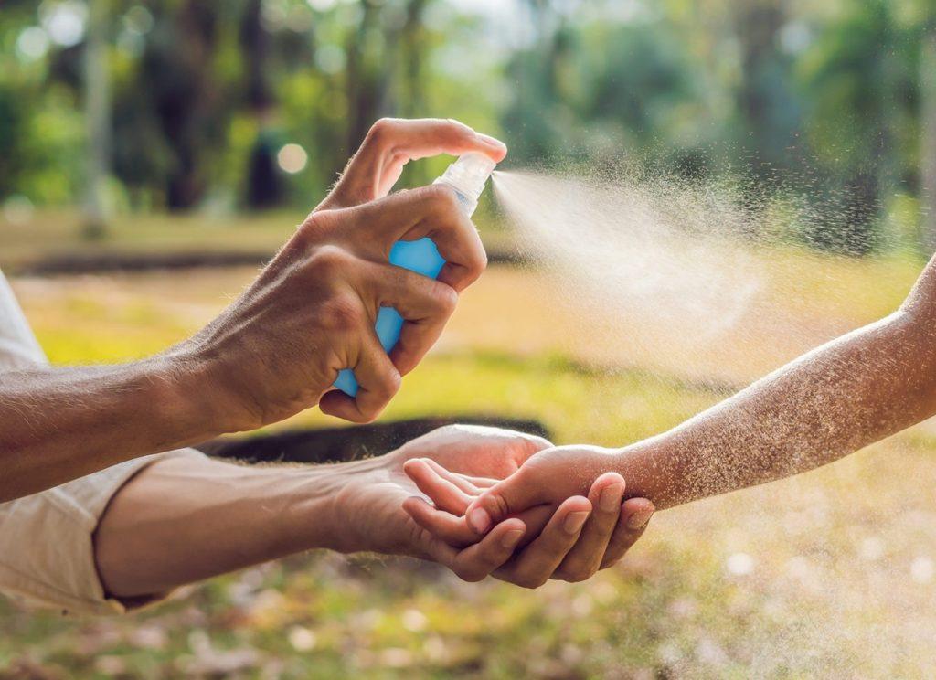 Bild zum Beitrag 'Mückenspray: Citronella statt Chemie'